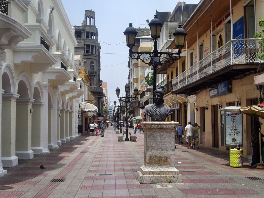 Пешеходная улица в Санто-Доминго