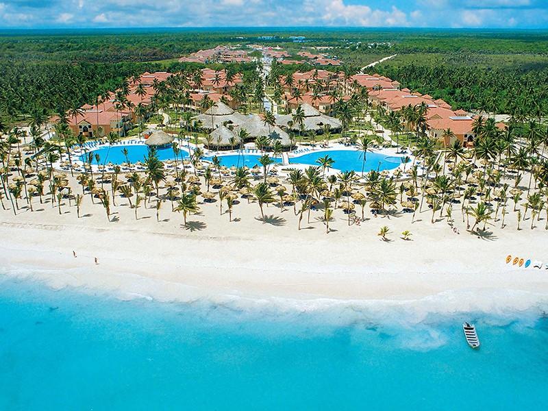 Пляж курорта Пунта-Кана в Доминикане