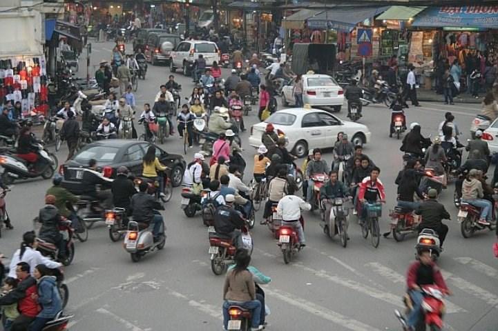 дорожное движение Вьетнам