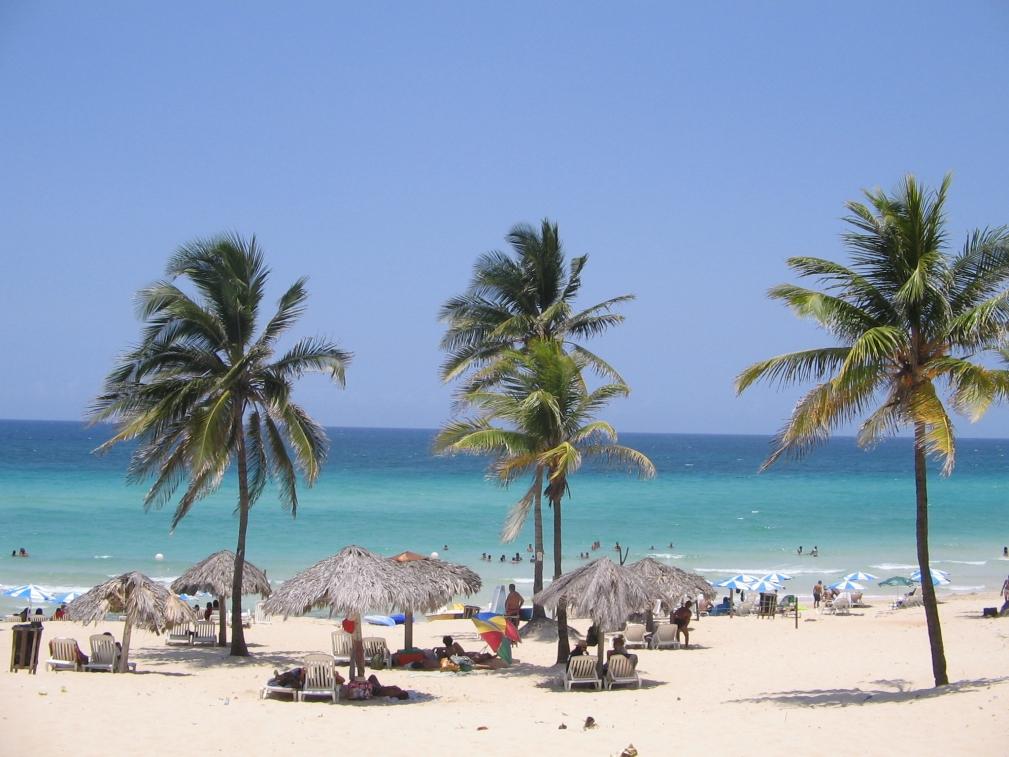 пляж Санта-Мария-Дель-Мар на Кубе