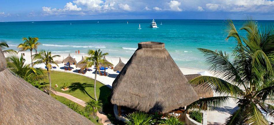 пляж ривьера майя